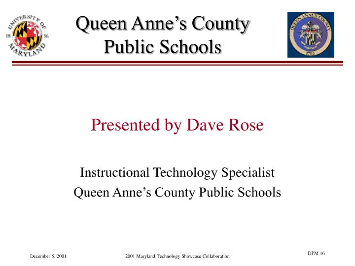 Queen Anne's County Public Schools