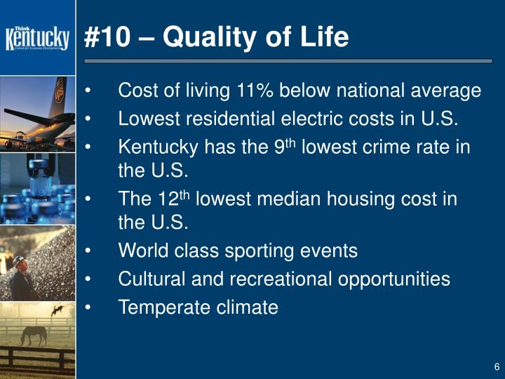 #10 – Quality of Life