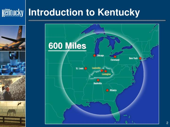 Introduction to kentucky