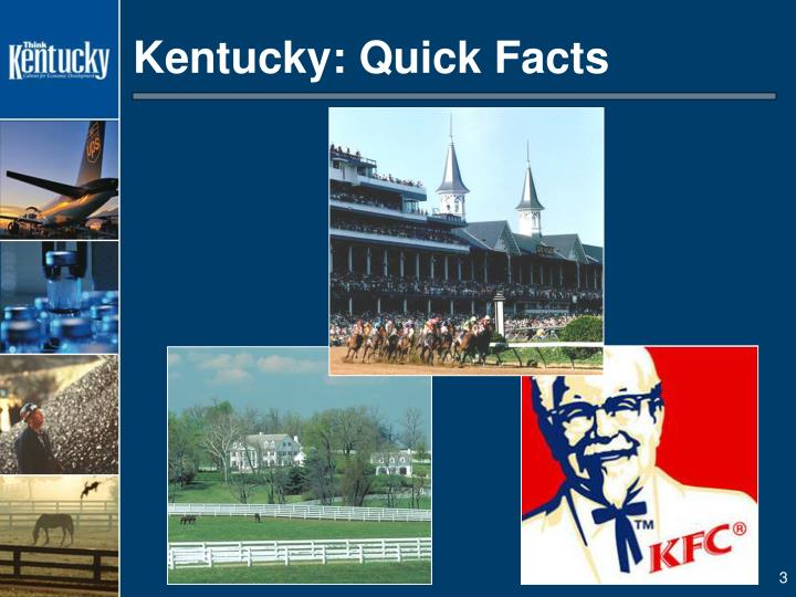 Kentucky quick facts