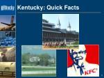 kentucky quick facts