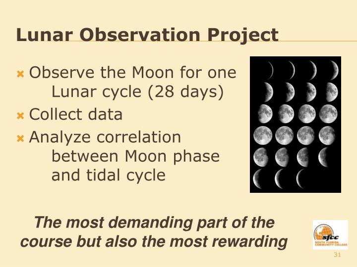 Lunar Observation Project