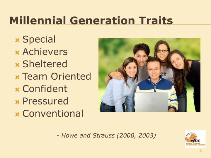 Millennial Generation Traits