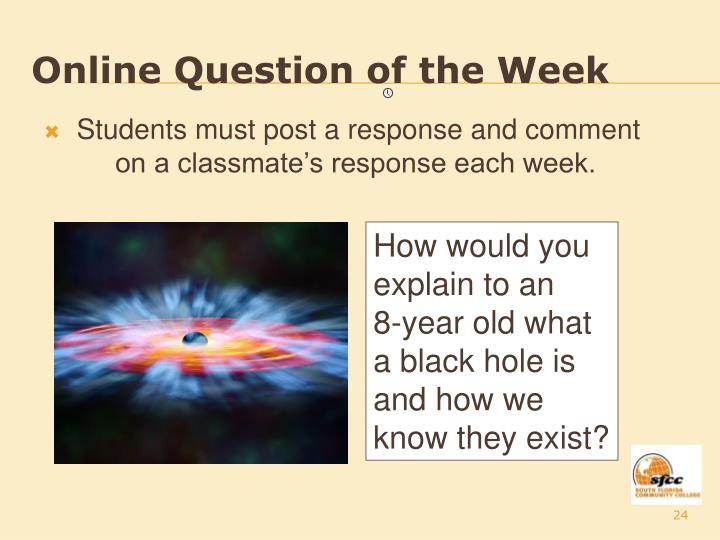 Online Question of the Week
