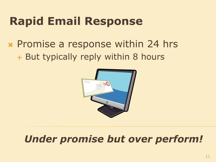 Rapid Email Response