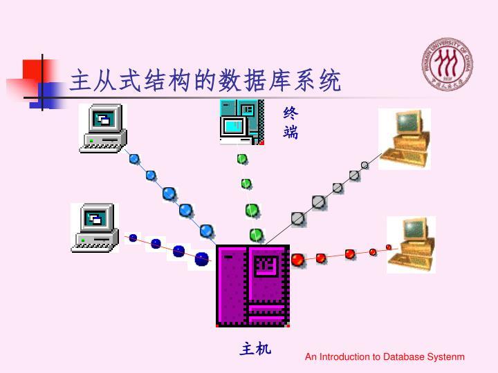 主从式结构的数据库系统