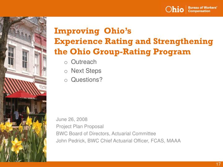 Improving  Ohio's