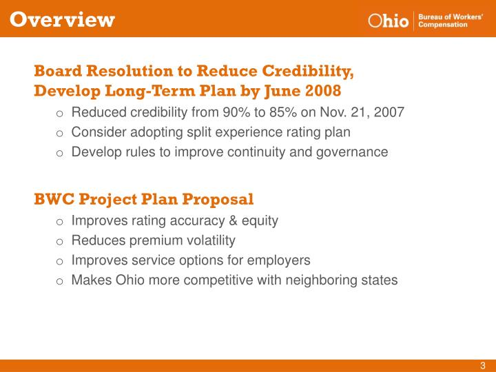 Board Resolution to Reduce Credibility,   Develop Long-Term Plan by June 2008