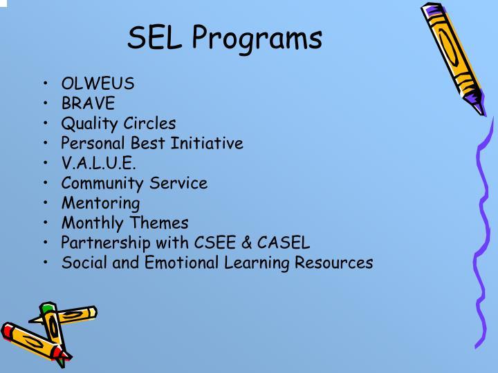SEL Programs
