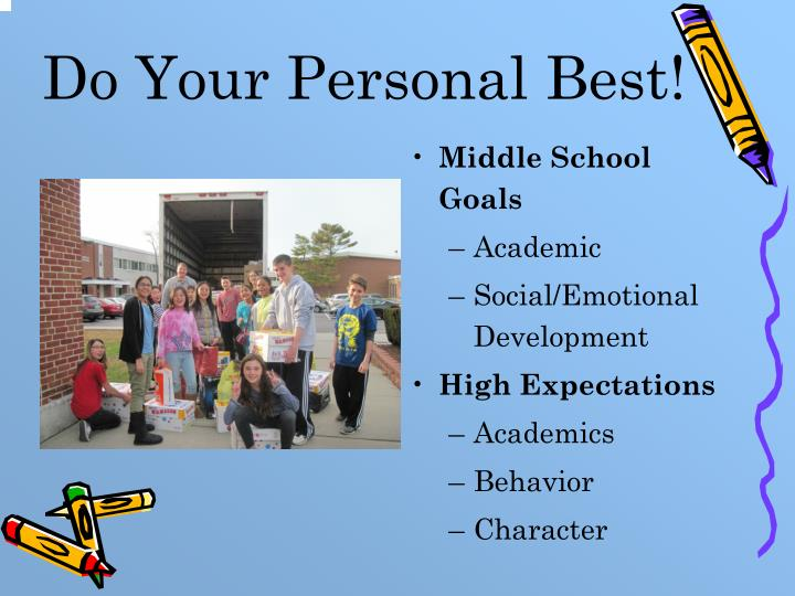 Do Your Personal Best!
