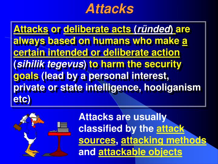 Attacks