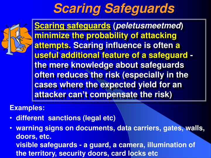 Scaring Safeguards
