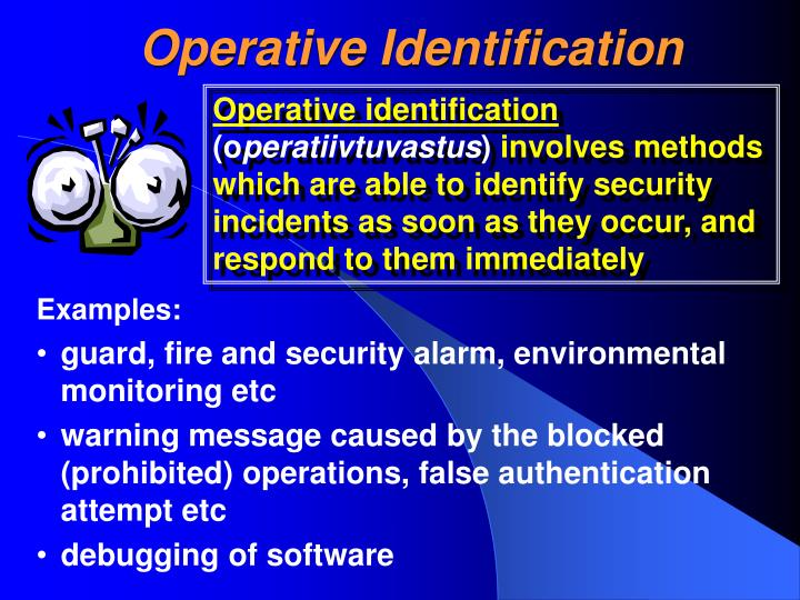 Operative Identification