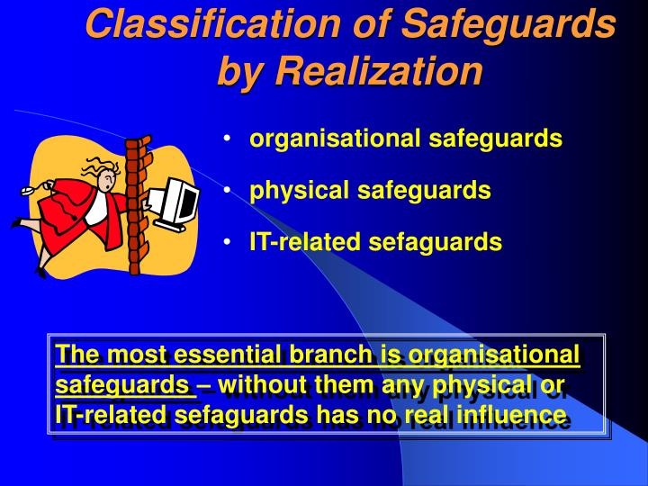 Classification of Safeguards by Realization