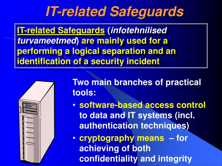 IT-related Safeguards