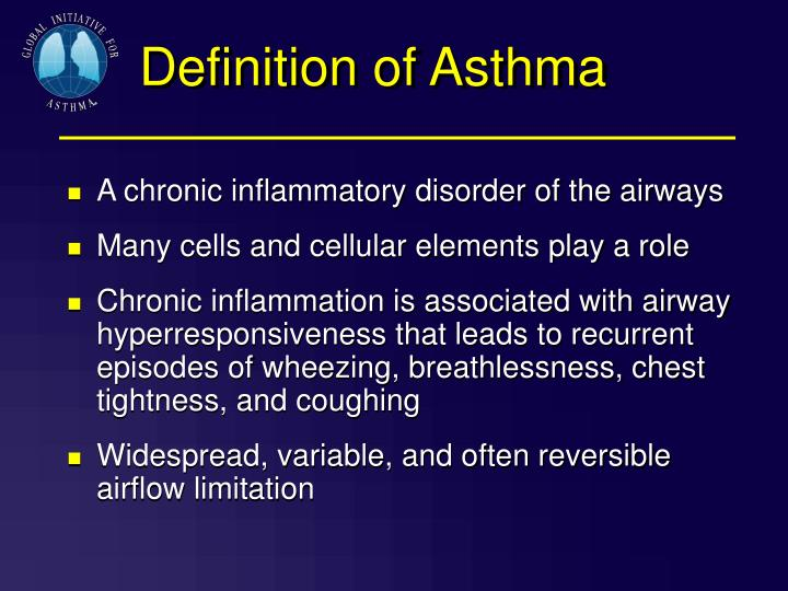 Definition of Asthma