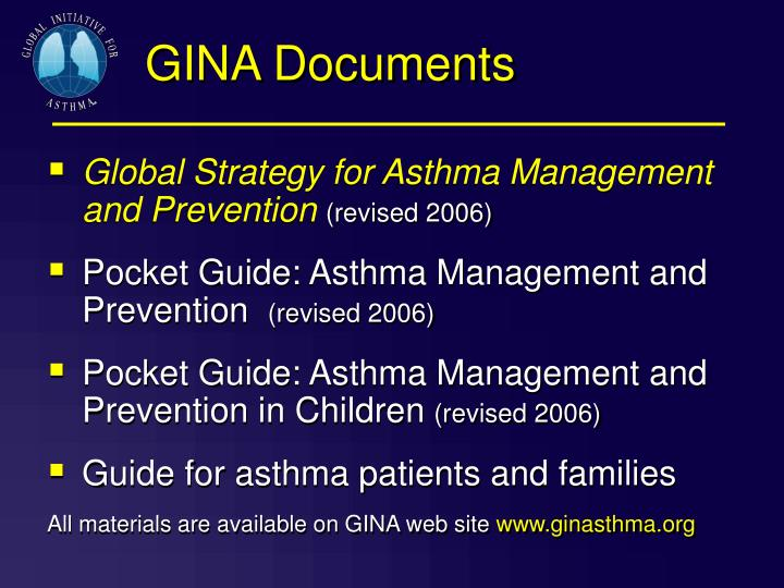 GINA Documents