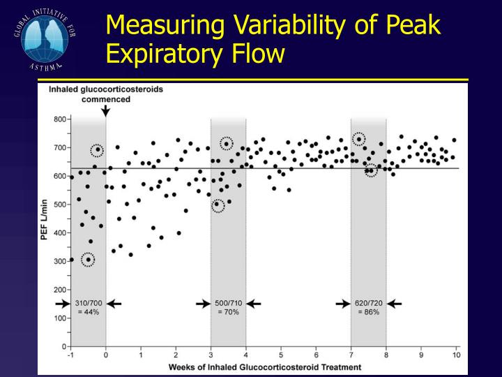 Measuring Variability of Peak Expiratory Flow