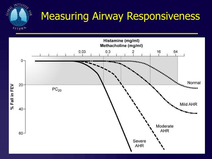 Measuring Airway Responsiveness