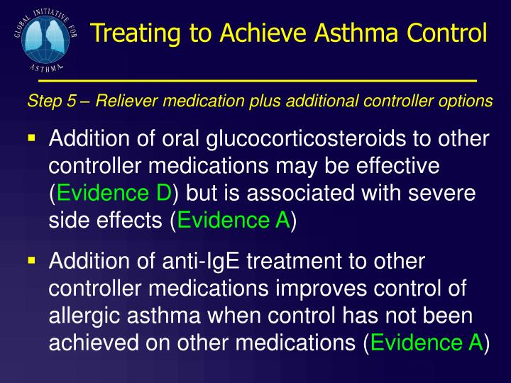 Treating to Achieve Asthma Control