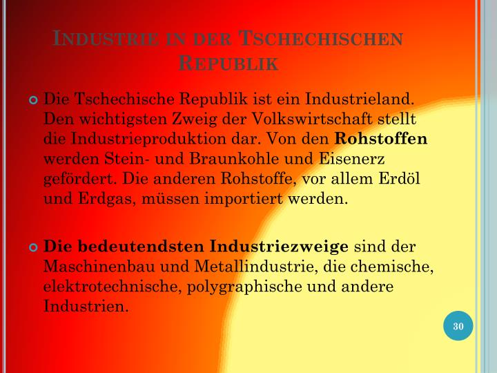 Industrie in der
