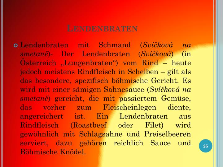 Lendenbraten