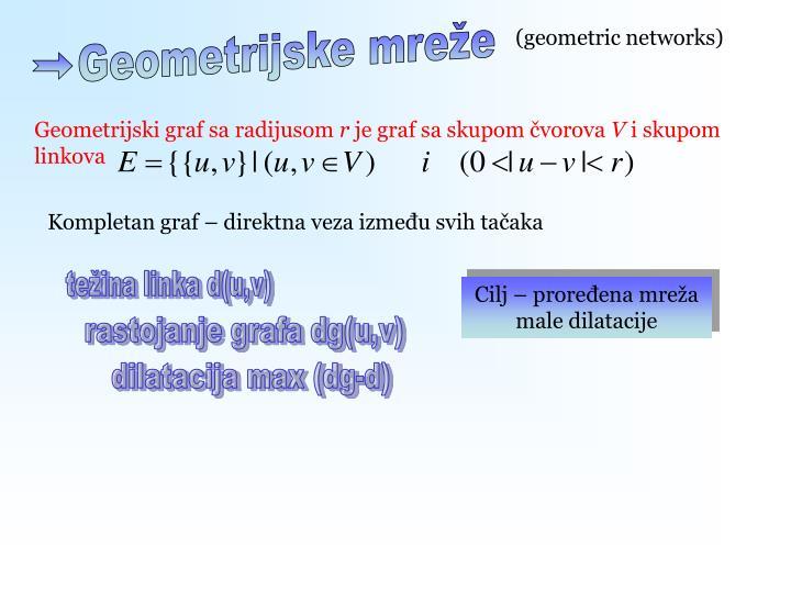 Geometrijske mreže