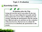 topic 2 evaluation10