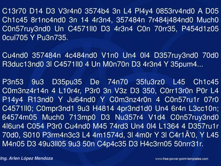 C13r70 D14 D3 V3r4n0 3574b4 3n L4 Pl4y4 0853rv4nd0 A D05 Ch1c45 8r1nc4nd0 3n 14 4r3n4, 357484n 7r484j484nd0 Much0 C0n57ruy3nd0
