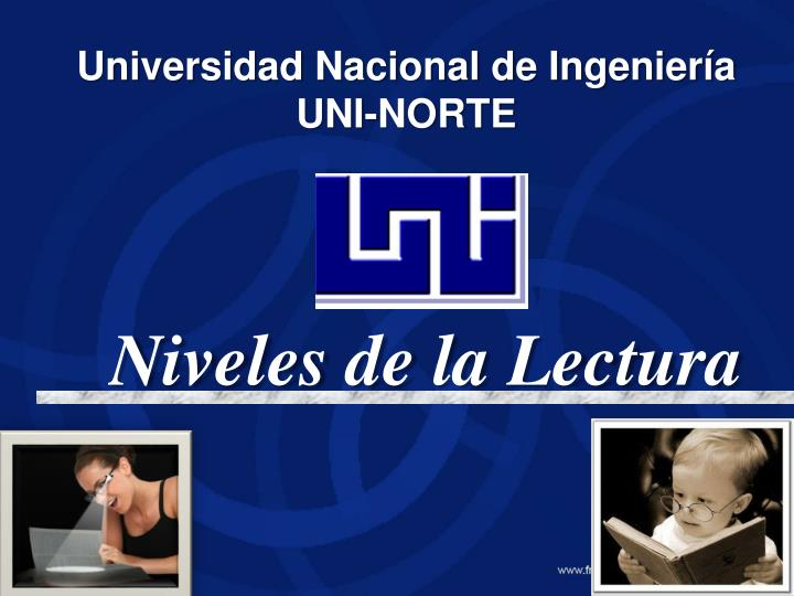 Universidad nacional de ingenier a uni norte