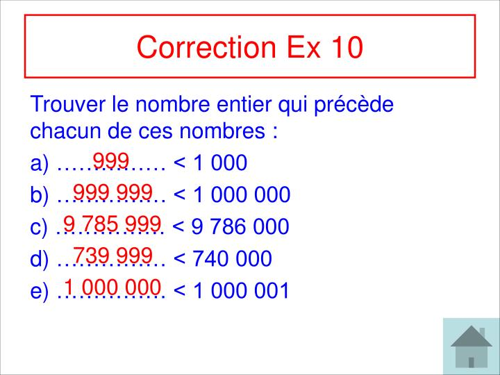 Correction Ex 10