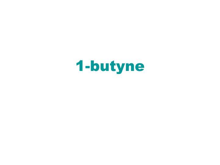 1-butyne