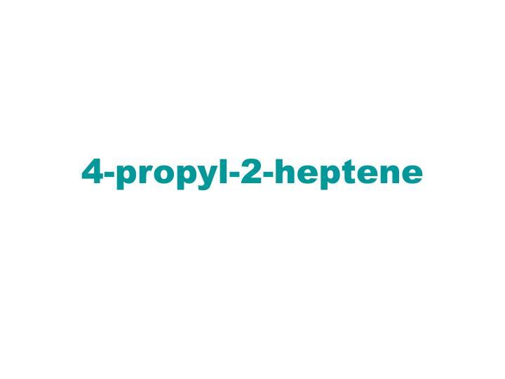 4-propyl-2-heptene