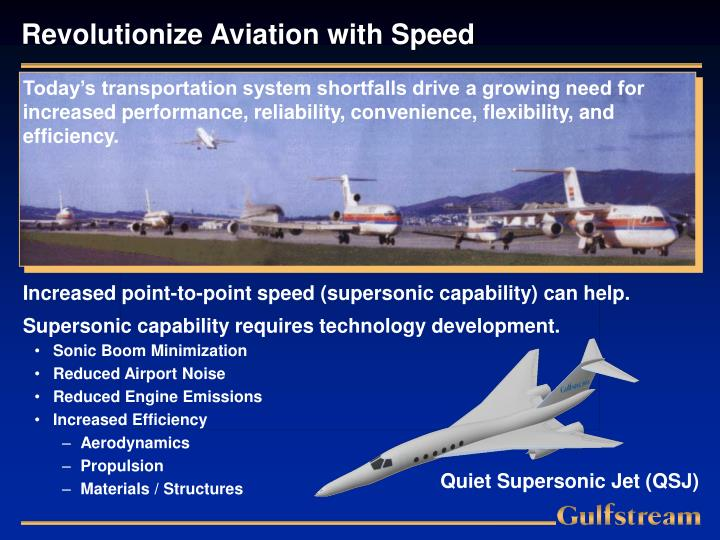 Revolutionize Aviation with Speed