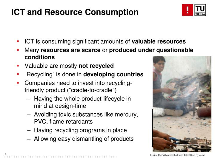 ICT and Resource Consumption