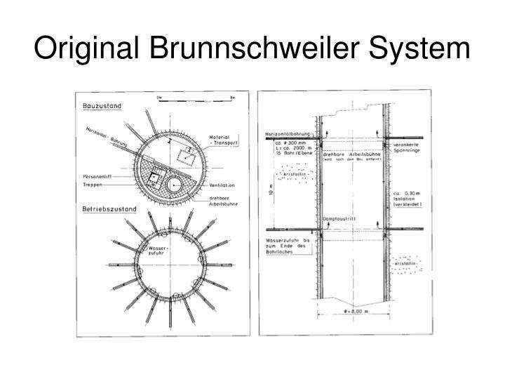 Original Brunnschweiler System