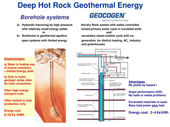 Deep Hot Rock Geothermal Energy