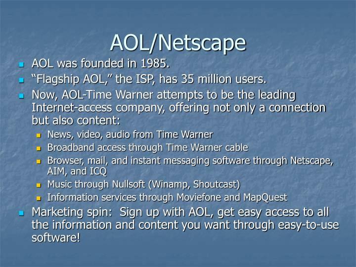 AOL/Netscape