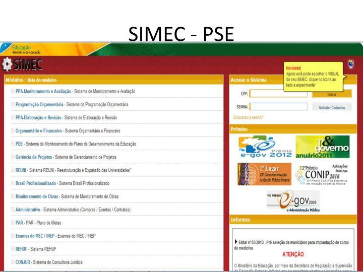 SIMEC - PSE