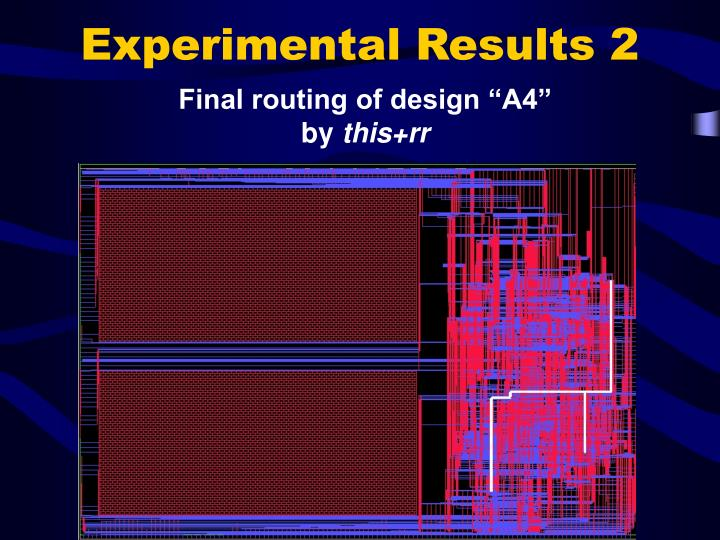 Experimental Results 2