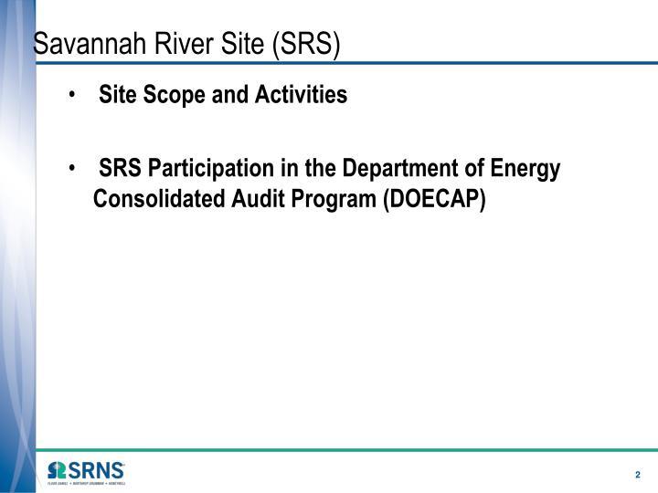 Savannah River Site (SRS)