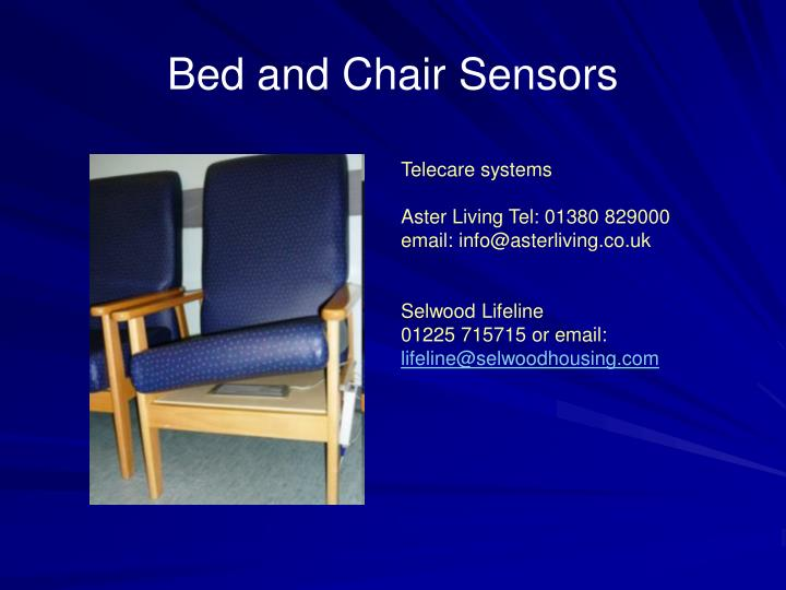 Bed and Chair Sensors