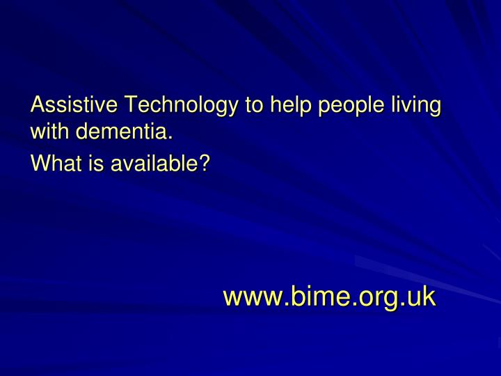 Www bime org uk
