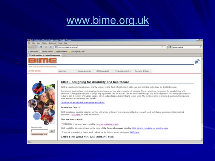 Www bime org uk1