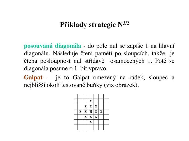 Příklady strategie N