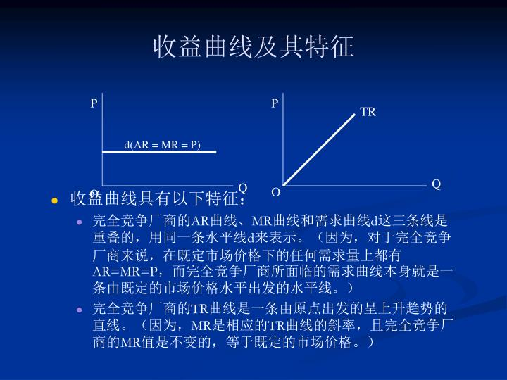收益曲线及其特征