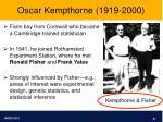 oscar kempthorne 1919 2000