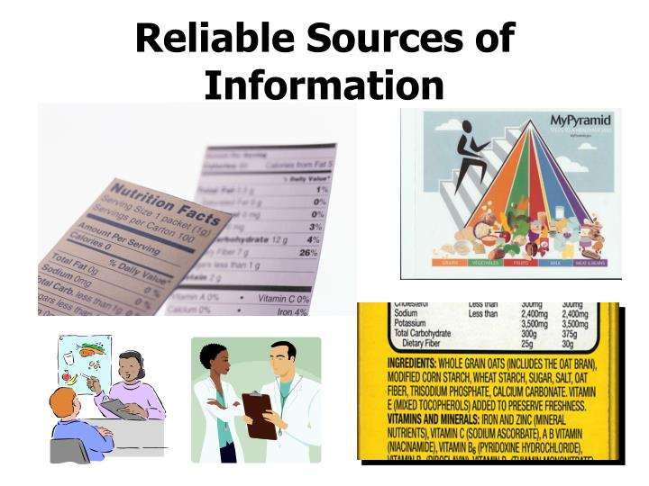 Reliable Sources of Information