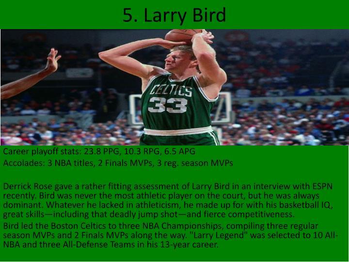 5. Larry Bird