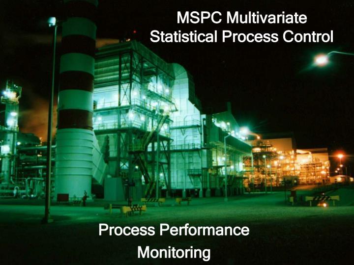 MSPC Multivariate
